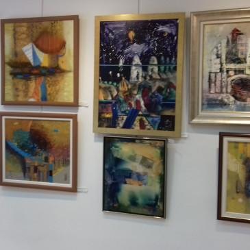 Картини от колекцията на галерията от 4.01. до 1.04 2021г.